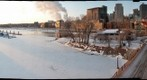 St. Paul, Minnesota at 0F (-18C)