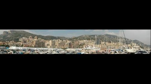 Monaco Harbour - 2009 Yacht Show