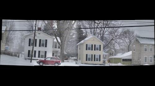 Snowy Day in Auburn NY