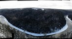 Restigouche River in winter