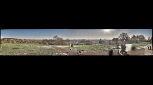New Year's Day Morning on Parlament Hill