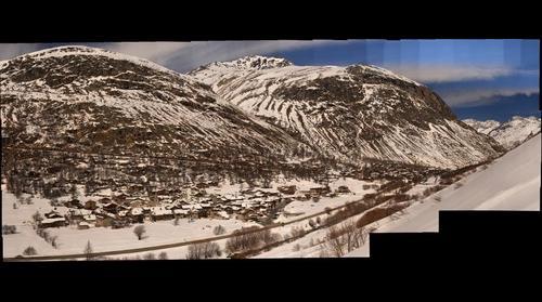 Bonneval sur Arc depuis l'avalanche