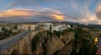 A View of Ronda and the Gorge, Andalucia, Spain