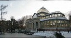 Lainformacion.com (Miguel Fernndez)| El Palacio de Cristal, bajo la nieve (Parque del Retiro)
