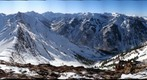 Pyramid Peak 3D panorama