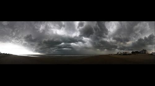 Storm at Pinamar