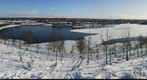 Lakeside, Doncaster, covered in snow part 2
