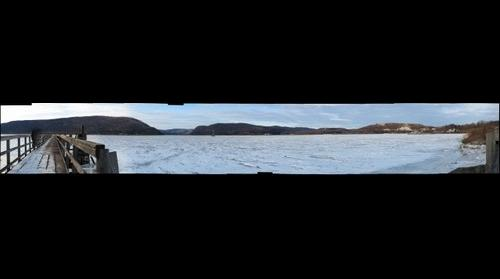 Peekskill Bay in Winter