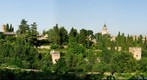 Alhambra from the Generalife Gardens, Granada