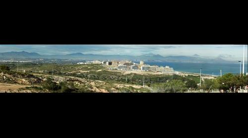 Arenales del Sol vista desde Gran Alacant