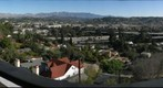 View from a porch in Silverlake, Los Angeles, California