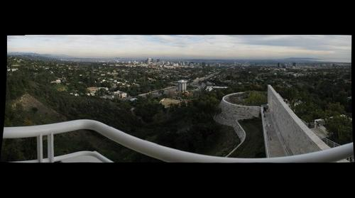 View from the Getty Center over Los Angeles