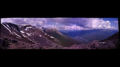 View From Whisler Mountain,  Jesper, Canada