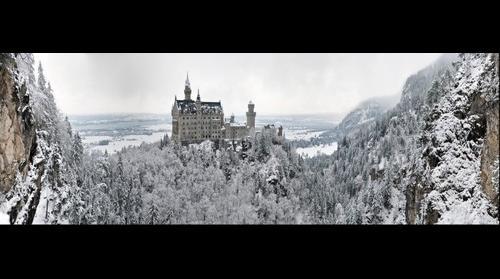 Neuschwanstein Snowscape