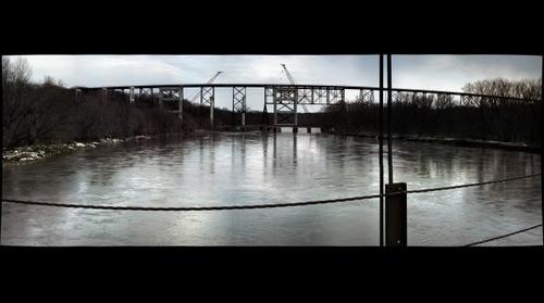 Kate Shelley Bridge - outside of Boone, Iowa, USA