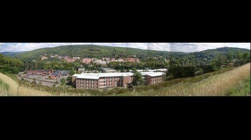 view of Alfred University