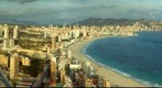Benidorm desde el mirador del Hotel Bali - planta 45