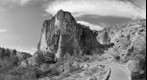 Bandelier National Park in B&amp;amp;W