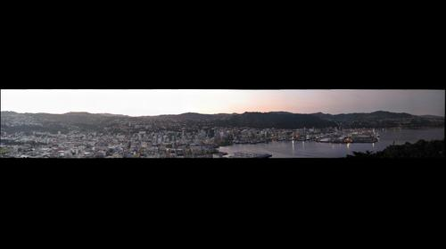 Wellington at Twilight