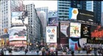 New York City, Times Square, 46th street, East side of Times Square, January 2010