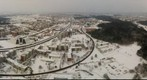 Lithuania, Vilnius, 2010 01 30. From TV tower
