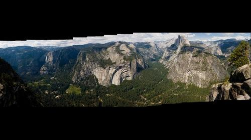 Glacier Point Panorma