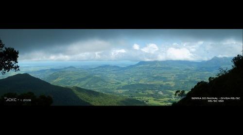 Serra do Faxinal - Canyon of Faxinal - SC, Brasil.