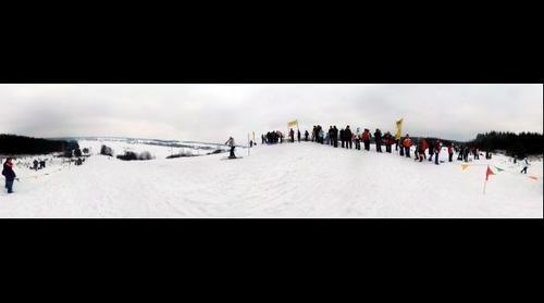 Zawody narciarskie z okazji 750 lat miasta Ostrzeszów