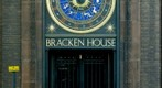 The Bracken House Clock, London