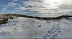 Dunes &amp;amp; Beach (360) Winter, Sandy Hook
