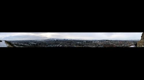 Edinburgh from Salisbury Crags #2