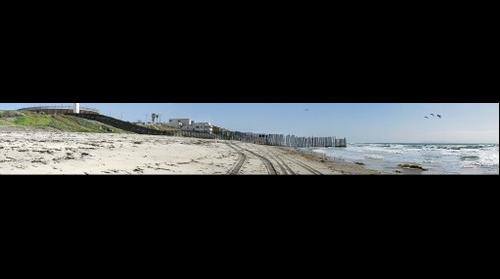 USA/Mexico Border Beach / SW corner of U.S.