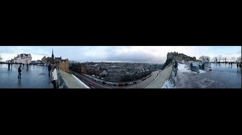 Edinburgh Castle 360 Pano