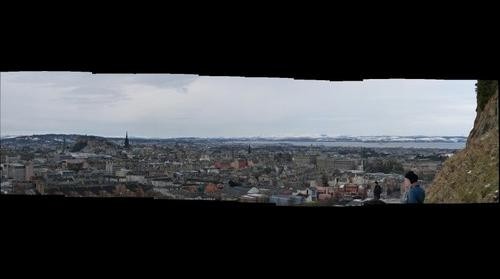 Edinburgh from Salisbury Crags #3