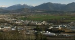 City of Chilliwack from Chilliwack Mountain