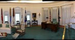 Lyndon Baines Johnson's Oval Office in LBJ Library in Austin, Texas