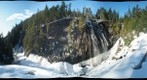 Narada Falls during winter, Mount Rainier National Park, Washington