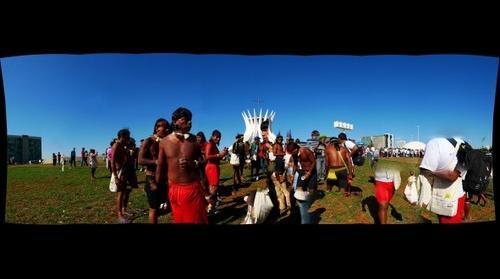 Indians in Brasilia