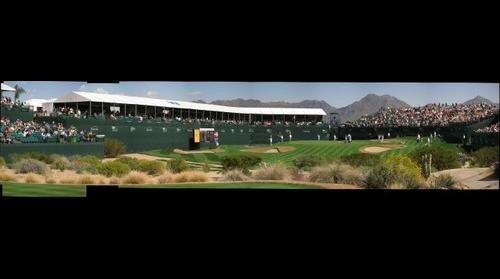 16th Hole at the WM Phoenix Open