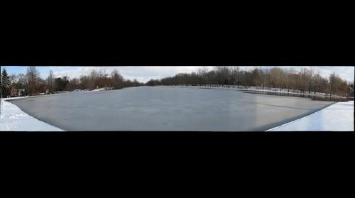 Milltown Pond in Plainsboro - Winter 2010