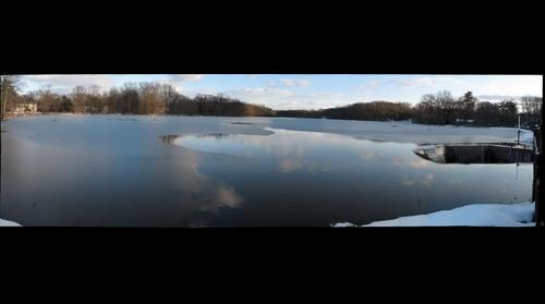 Grovers Mill Pond in Plainsboro - Winter 2010