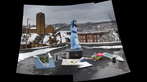 Ally's Projects on a Windy Roof