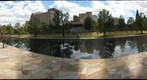 Oklahoma City Bombing Memorial from Harvey Avenue