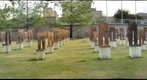 The Field of Empty Chairs at the Oklahoma City Bombing Memorial