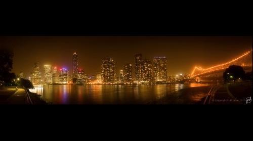 Brisbane Dust Storm Panorama