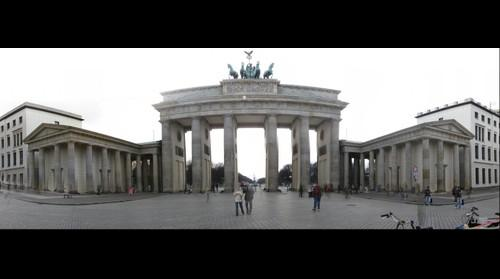 Brandenburg Gate from the East