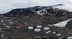 McMurdo Station, view from Observation Hill, Antarctica