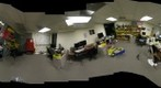 Global Connection/GigaPan lab before the final pre-move cleanup