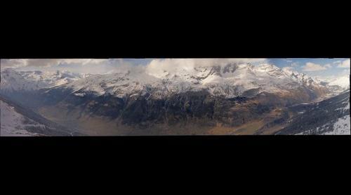 Val-Cenis du haut de la station