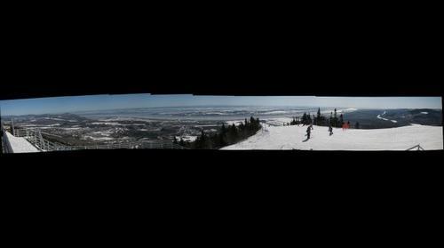 Mont Ste-Anne, Sommet-Ouest, Beaupré, Québec, Canada
